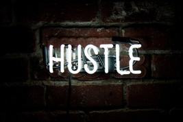 "New Hustle Wall Decor Acrylic Back Neon Light Sign 14"" Fast Ship - $60.00"