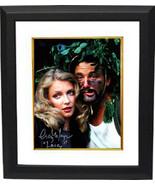 "Cindy Morgan signed Caddyshack 16X20 Photo Custom Framed  Inscribed ""Lac... - $136.95"