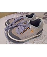 AirWalk Infant Baby Boys Toddler Suede Lace Up Sneakers Shoes Gray Size 8   - $5.99