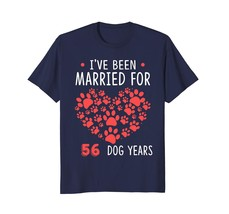 Dog Fashion - 8th Wedding Anniversary Gifts. Couple Shirt for Dog Lover Men - $19.95+