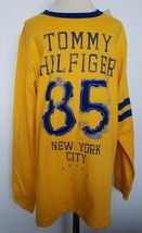 Tommy Hilfiger Boys Top Shirt Long Sleeve Yellow Size L 16-18 NWT - $28.99