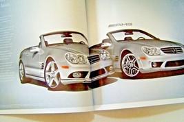 2007 mercedes sl65 amg sl55 amg sl600 owners sales brochure w129 new original - $29.69