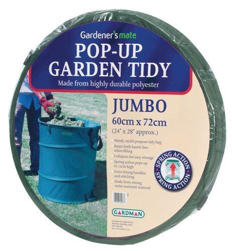 "Gardman R623 Pop-Up Garden Tidy Jumbo, 24"" Wide x 28"" High"