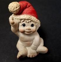 Dreamsicles Santa Baby Cherub Angel Wings Cast Art Hat Kristin 96 Figuri... - $9.95