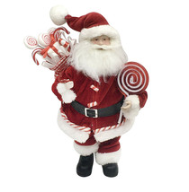 Christmas decoration Santa with Lollipops seasonal - $118.79