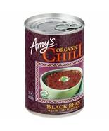 Amy's Organic Low Fat Medium Chili Black Bean 14.7 oz ( Pack of 6 ) - $32.71