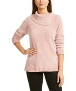 Karen Scott Cowl Neck Blush Pink Chenille Sweater Women's 2XL - $24.97