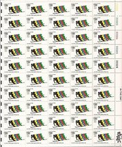 USPS 1972 Olympic Games Airmail - Full Sheet of 50 x 11 Cent Stamps Scot... - $10.99