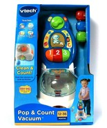 Vtech Clean & Count Pop & Count Vacuum Imitative Play Numbers Age 12 To ... - $79.99