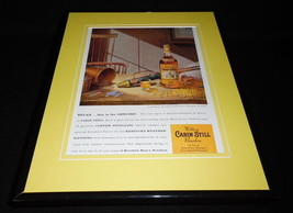 1959 Weller's Cabin Still Bourbon 11x14 Framed ORIGINAL Vintage Advertis... - $41.71