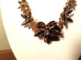Guess New York Semi Precious Floral Design Necklace (NEW) - $19.75
