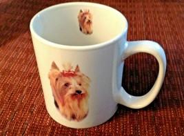 Yorkshire Terrier Coffee Mug Yorkie Dog Ceramic 12 Ounce - $16.78