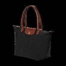 LONGCHAMP Le Pliage Nylon TOTE BLACK Shoulder B... - $74.99