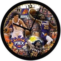"Phoenix Suns Homemade 8"" NBA Wall Clock w/ Battery Included - $23.97"