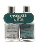 Bari Pure Ice Cosmetics CRACKLE & ICE Duo Nail Polish, Lightning Strikes... - $5.31