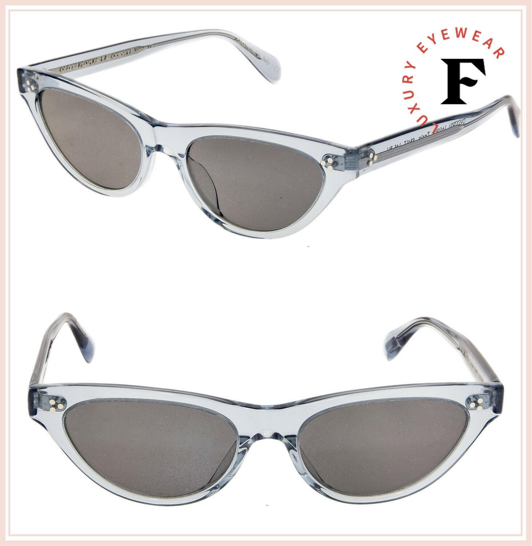 Oliver Peoples ZASIA 5379 Light Denim Blue Vintage Glass Sunglasses OV5379SU