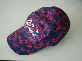 Disney Parks Modern Minnie Mouse Baseball Cap Hat with Bows - $23.76
