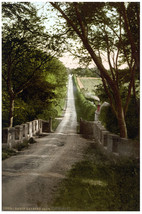 1800s Inspirational POSTER.Home wall.Scotland.House Vintage Decor.621i - $10.89+