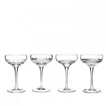Mixology Mixed Coupe Small Set of 4 New w/ Tag box only damaged 159430 - $218.79