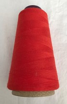 Cone Red Serger Thread by Spun Dee Originally 6000 Yards, Partly Used - $4.49