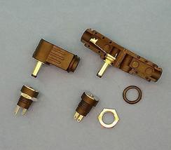 Plugz2go 20 x Spina di Alimentazione cc 2,1 x 5.5mm Jack Connettore Maschio 9mm