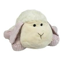 """12 """" Brooks Brothers Par GUND Blanc Rose Bébé Mouton Animal en Peluche Jouet - $54.80"""