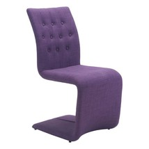 dining room chair, Purple Hyper Elegant upholstered modern dining chair,... - $515.99