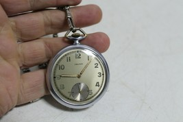 Antique Vintage Old Swiss Made Favor Army Mens Pocket Watch. - $114.94