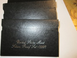 1997 , US Mint Silver Proof Set , Lot of 3 Sets , NIB - $125.00