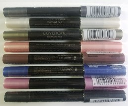 Covergirl Flamed Out Eye Shadow Liner Pencils Collection Set Lot of 8 Sh... - $14.01