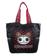 Furrybones Mao-Mao Black Carrying Tote Bag - $32.66