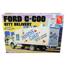 Skill 3 Model Kit Ford C-600 City Delivery Truck Hostess 1/25 Scale Mode... - $55.99