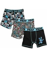 Five Nights At Freddy's Boy's Athletic Boxer Briefs Underoos SMALL ~ 3 P... - £12.83 GBP