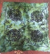 Altar Cloth GREEN MAN 18 x 18  Green Go Go Black - $6.45