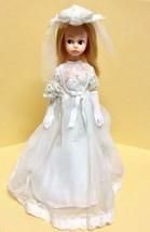 Nakajima Scarlet chan Doll Used with Wedding dress Veil & Bouquet Gloves... - $429.99