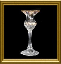 Rosenthal Crystal Single Candlestick in the Classic Rose pattern - $12.00