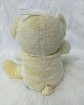 Kids Preferred Bear w Baby Hand Rattle Lovey Yellow Lovey Plush Stuffed Toy B205 image 3