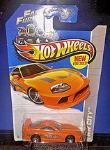 Hot Wheels Fast and Furious Brian's Toyota Supra New for 2013 Jdm Racer ... - $4.21