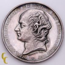1780-1857 Pierre-Jean de Beranger Commemorative Medal - $147.51
