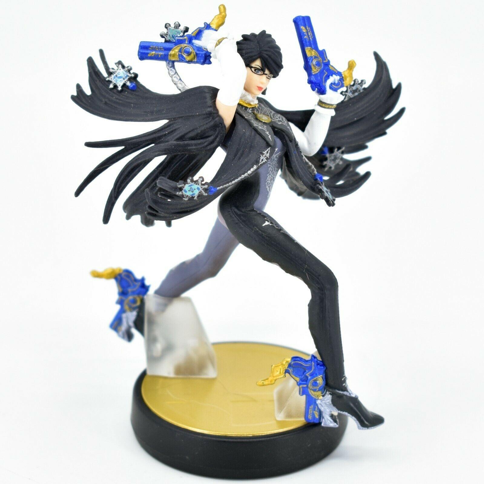 Nintendo Super Smash Bros. Bayonetta Player 1 Amiibo Loose Character Figure
