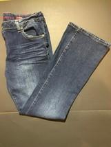 Arizona Jeans New Womens 16 1/2 Plus Bootcut Jeans Adjustable Waist - $32.73