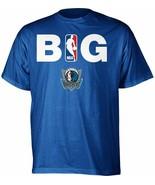 adidas Dallas Mavericks Big NBA Logo T-Shirt - Men's Small - $4.50