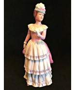 Home Interiors HOMCO 1431 Victorian Lady Figurine Porcelain 8.75 inches ... - $24.74