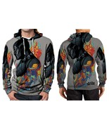 Black Panther Hoodie Fullprint Men - $44.99