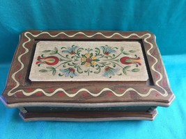 Anri Vintage Reuge 18 Note Music Box La Paloma - $85.00