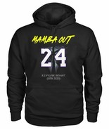 Lakers Kobe Bryant 24  Mens Black Hoodie - $35.99