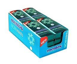 Product Of Mentos Now , Wintergreen Mint Tin, Count 12 (1.09 oz) - Mints... - $31.35