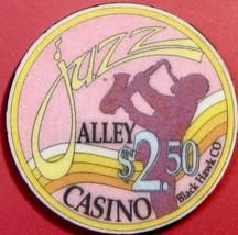 $2.50 Casino Chip. Jazz Alley, Black Hawk, CO. V33. - $4.99