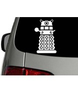 DOCTOR WHO DALEK Vinyl Decal Car Truck Wall Sticker CHOOSE SIZE COLOR - $2.64+