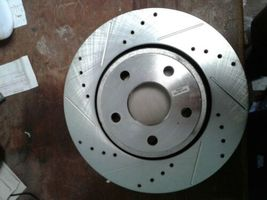 Power Stop AR83076XL Left Drilled and Slotted Disc Brake Rotor (jew) image 4